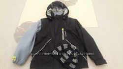Куртка 5 в 1 Huppa р. 116, две пары штанов H&M, шапка Lenne