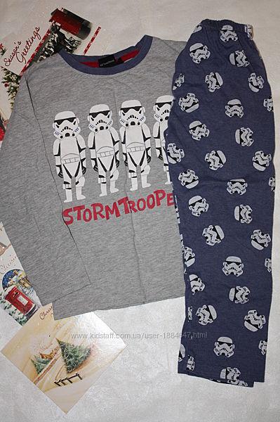 Пижама котоновая ф. Rebel Star Wars 5/6 лет, р-116, отличное состояние