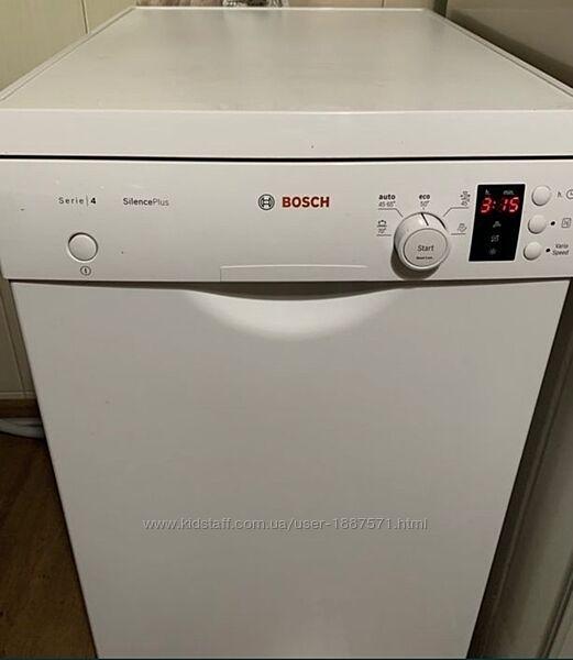 Посудомоечная Машина отдельно стоящая Bosch SPS50E82EU Германия А Класс