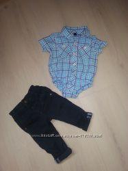 Рубашка-боди Gap на маленького модника