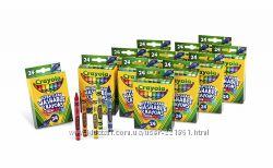 Crayola Washable смываемые карандаши, мелки