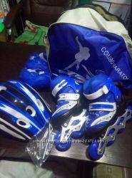 Ролики шлем защита сумка Maraton для ваших деток Качество проверенно