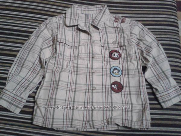 Катоновая рубашка Дисней