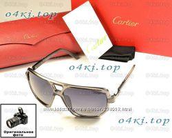 Мужские солнцезащитные очки Cartier качественная копия модный стиль акция