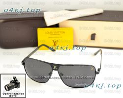Мужские солнцезащитные очки Louis Vuitton для водителей качество поляризаци