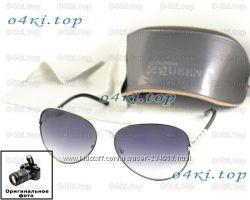 Мужские солнцезащитные очки Alexander McQueen Aviator качество 2 вида ААА