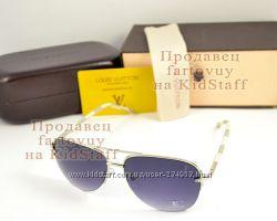 Солнцезащитные очки Louis Vuitton Aviator Авиатор унисекс 3 вида качество 5a026aa183b