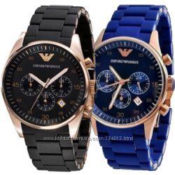 Женские наручные часы Emporio Armani AR5906 Chronograph Качество ААА 2 вида