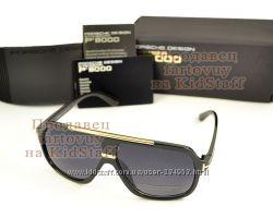 Мужские солнцезащитные очки Porsche Design глянцевые новая модель защита UV