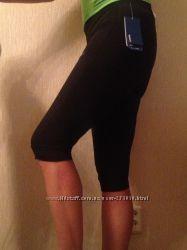 лосины леггинсы все размеры брюки капри для спорта Reebok Play Dry XC-XL