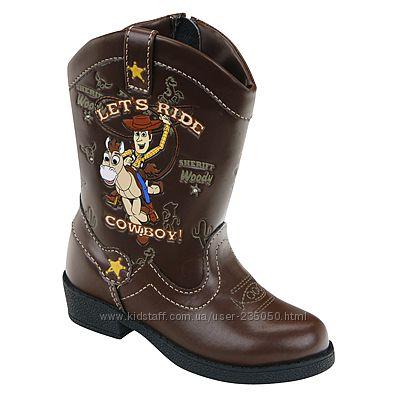 Ковбойские сапоги сапожки от disney Toy Story светятся