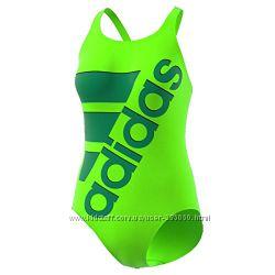 Спортивный купальник Adidas Infinitex неонового цвета