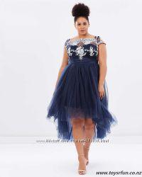 Выпускное вечернее коктейльное платье Chi Chi London 28р