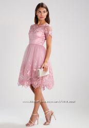 Вечернее коктейльное выпускное платье Chi Chi London