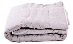 Льняные одеяла ТМ Хеппи Лен  Чехол стеганный, наполнитель лен .