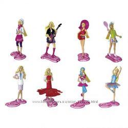 Barbie профессии Пони, Китти, Юбилейная серия фигурки Киндер