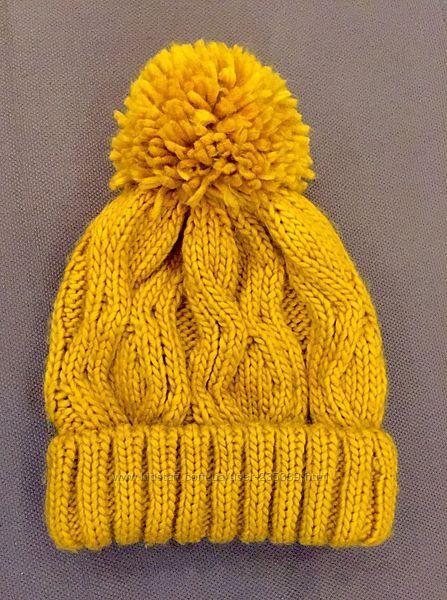 Стильная шапка бини Bershka, в идеале