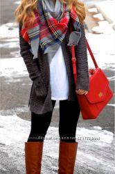 Красивый объёмный шарф Pull&Bear, Испания