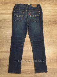 Крутые джинсы Levis для девочки р. 6, оригинал