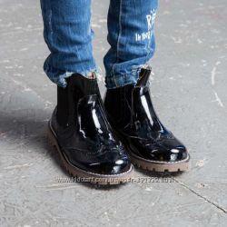 Стильные ботинки Evie Shoes для девочки р. 32, стелька 22 см