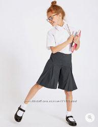 Крутые школьные кюлоты Marks&Spenser р. 7-8 лет