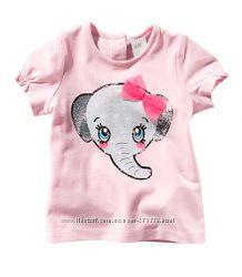 Милые наряды H&M для малышки 9-12 мес