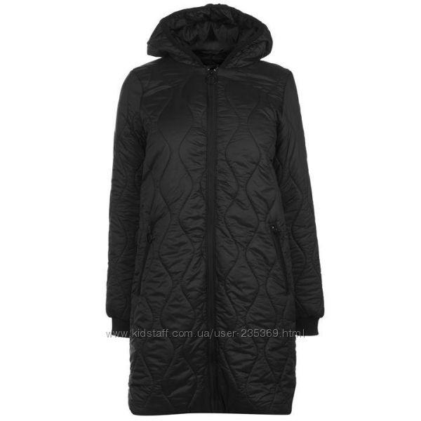 куртка с капюшоном Golddigga Bomber черный удлиненный бомбер женская куртка