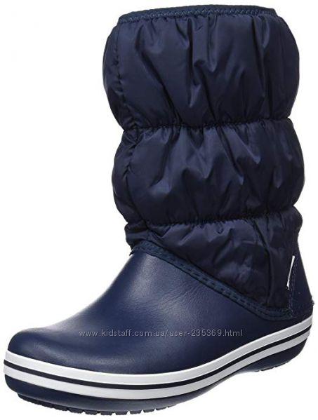 сапоги Crocs, крокс в наличии winter puff boot зимние сапоги