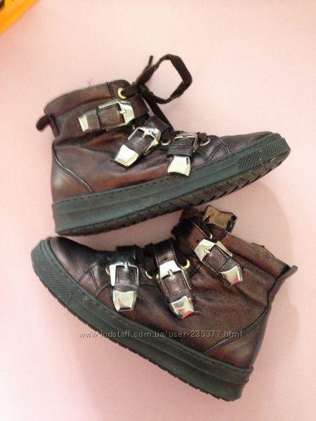 Ботинки Cherie Италия р. 31 19-19, 5 см натуральная кожа