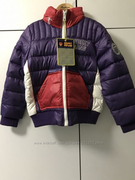 Куртка пуховик на 5-6 лет Street Gang Италия
