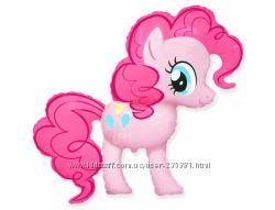 Пони Пинки Пай, Радуга, лошадки - фольгированные шары