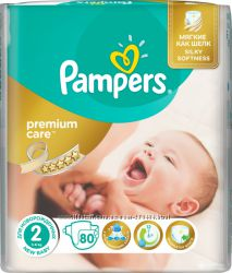 Подгузники Pampers Premium Care New Born 2 поштучно