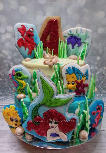 Имбирные пряники на торт