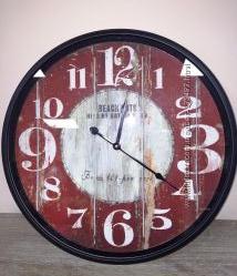 Часы настенные большие метал стекло  2 вида 3B039