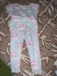 Пижама F&F 5-6 лет