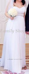 Cвадебное платье в греческом стиле