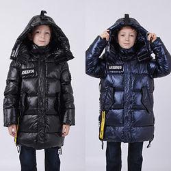 куртка зимняя ANERNUO 116см 122см 128см  130см 140см