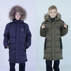 Пальто зимнее  KIKO 134, 140, 146  152 см158 см164 см170 см