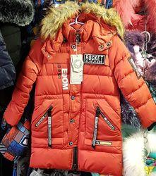 Куртка удлиненная  зимняя 110см 120см