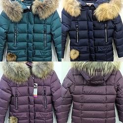 Пальто зима KIKO 134см140см146см152см 158см 164см