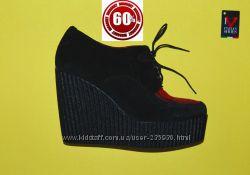 Итальянские гламурные ботинки бренд Maison Zero Italy