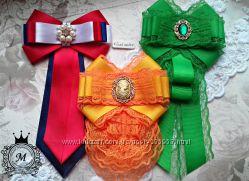 Женская брошь, галстук, жабо