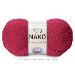Нако Pure Wool 350м  шерсть