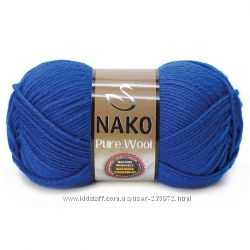 Нако Pure Wool 220м  шерсть