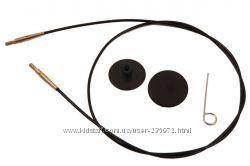 Лески KnitPro для создания круговых спиц разной длины.