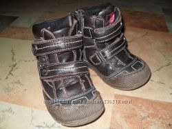 Кожаные демисезонные ботиночки р. 27 стелька 16, 5см