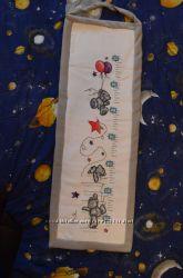 Вышивка детских ростомеров-2