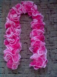 Вязаные шарфики