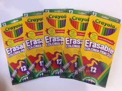 Карандаши и фломастеры Crayola из США в наличии