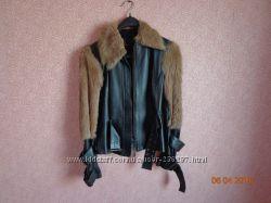 Кожаная куртка manigance